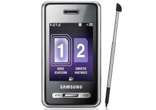 Unlocked Samsung SGH D980 Phone JAVA  GSM Bluetooth 8808987877378