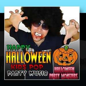Happy Halloween Kids Pop Party Music Halloween Party Monsters Music