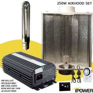 Grow Light System with Air Cooled Hood. Best 250 watt hydroponic grow