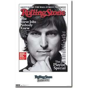 Professionally Framed Steve Jobs Rolling Stone Cover