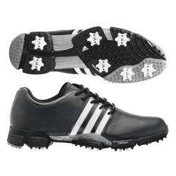 Adidas Mens Greenstar Black/ White Golf Shoes
