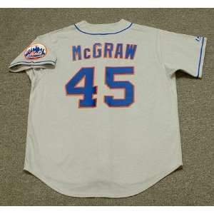 New York Mets 1969 Majestic Cooperstown Throwback Away Baseball Jersey