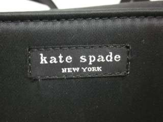 KATE SPADE Black Nylon Shoulder Make Up Case Handbag