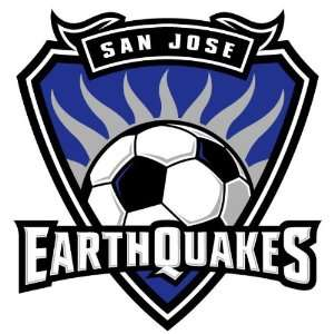 San Jose Earthquakes USA Soccer Auto Car Sticker 6X6.25