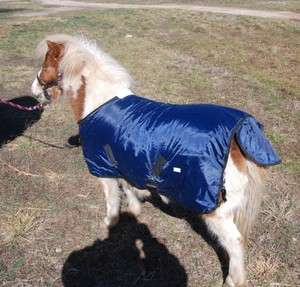 Waterproof mini miniature horse turnout blanket 42 size polyfill