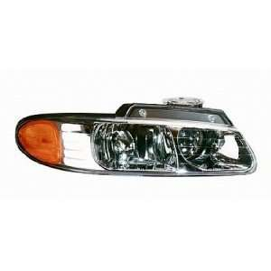 00 00 Chrysler Town & Country Van Headlight (Passenger Side) (2000 00