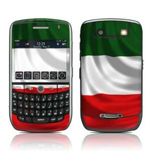 Italian Flag Design Protective Decal Skin Sticker for Blackberry Curve