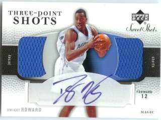 Dwight Howard Sweet Shot Three Point Shots Auto Jersey