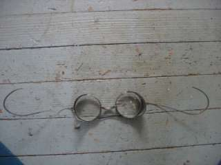 Vtg KINGS safety glasses goggles Industrial Steampunk Motorcycle w