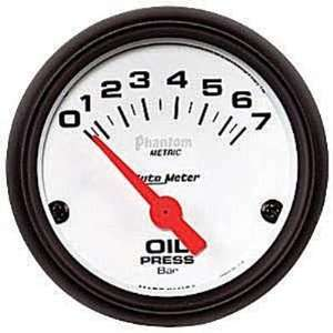 Auto Meter Phantom Oil Pressure Gauge   5727 M Automotive