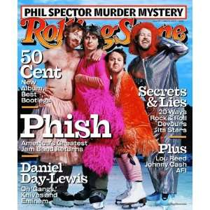 Phish, 2003 Rolling Stone Cover Poster by Martin Schoeller (9.00 x 11