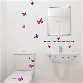 BUTTERFLY Peel&Stick Decor Mural Art Wall Sticker #244