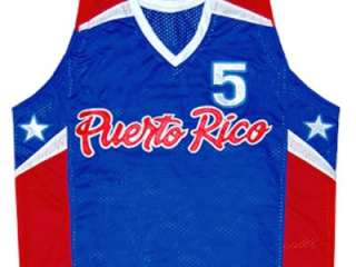 JOSE JJ BAREA TEAM PUERTO RICO JERSEY BLUE NEW ANY SIZE NWK