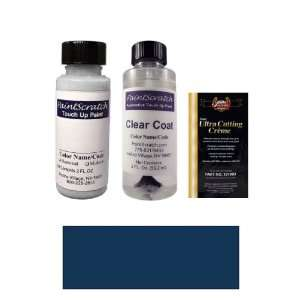 Blue (matt) Metallic Paint Bottle Kit for 1998 Mercedes Benz Matt