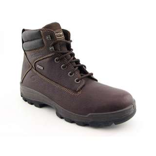 WOLVERINE 84907 Brown Boots Work Shoes Mens SZ 10