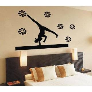 Easy instant decoration wall sticker wall mural Gym Gymnastics life
