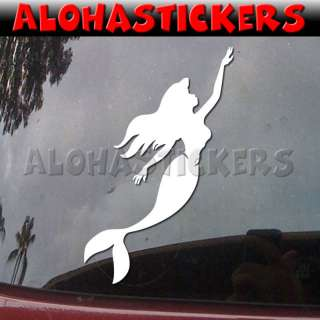 MERMAID Vinyl Decal Fish Car Truck Window Sticker G28
