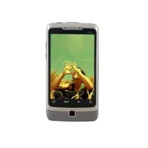 Touch Screen Quad Band Dual Cell Phone(Silver) Cell Phones