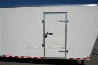 NEW 2012 8.5 X 48 ENCLOSED GOOSENECK CARGO TRAILER