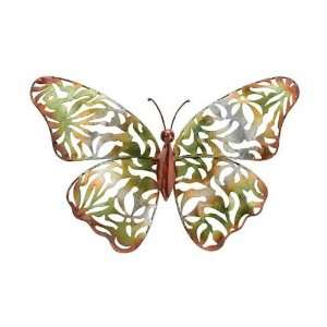 Green Lace Butterfly Wall Dicor (Inside Art) (Outside Ornaments