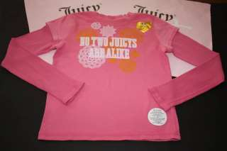 JUICY COUTURE KIDS LONG SLEEVE TOP SHIRT GIRLS SIZE 12