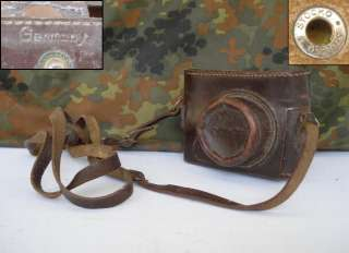 WWII ORIGINAL GERMAN CAMERA CASE   ROBOT