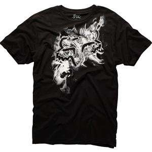 Fox Racing Nebula T Shirt   X Large/Black Automotive