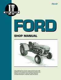 Ford Tractor Shop Manual FO47 3230, 3430, 3930, 4630