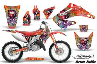 AMR RACING OFF ROAD MOTORCYCLE GRAPHIC KIT HONDA CR 125 250 R 02 12 ED