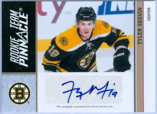 / TAYLOR HALL 2010 11 ROOKIE TEAM PINNACLE AUTO JERSEY #19/50