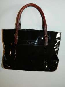 Kate Spade Black Patent Leather Purse Handbag Shoulder Bag