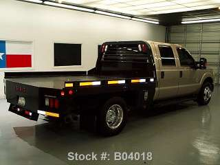 DIESEL DUALLY FLAT BED 6 PASS 53K in Commercial Trucks   Motors
