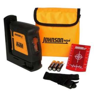 Johnson Self Leveling Hi Powered Cross Line Laser Level 40 6625 at The