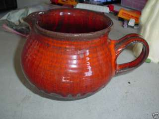 Unique Antique Ditley Danmark Pottery Pitcher LOOK