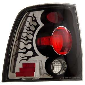 Anzo USA 211054 Ford Expedition Black Tail Light Assembly   (Sold in