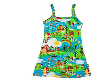 girls summer beach dress by wild things funky little dresses