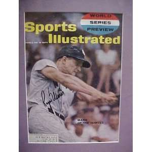 Roger Maris Autographed Signed October 2 1961 Sports Illustrated