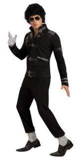 Black Michael Jackson Bad Jacket Costume   Michael Jackson Costumes
