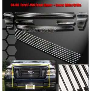 Ford F150 6 Piece Billet Grille Combo   Bumper Grille Grille Grill