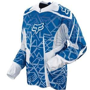 Fox Racing Platinum Jersey   2009   Medium/Blue Automotive
