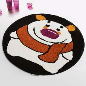 [Winter Bear] Kids Room Rugs (23.6 by 23.6 inches)