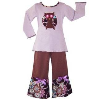 Boutique Girls Funky Floral Kids Clothing Clothes Clothing
