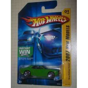 Instant Win Card #2007 01 Collectible Collector Car Mattel Hot Wheels