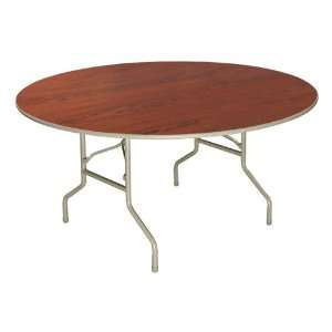Norwood Commercial Furniture High Pressure Top Round Folding Table (60