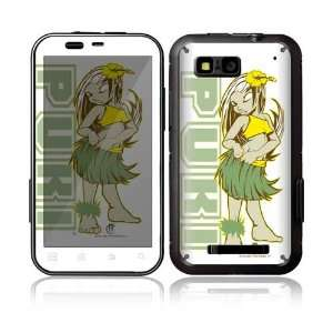 Puni Doll Decorative Skin Decal Sticker for Motorola Defy