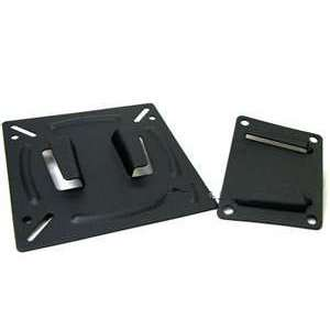 1x14 24 Black Flat Panel LCD Screen Monitor Tv Wall Mount