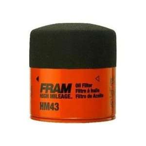 FRAM HM4967 High Mileage Oil Filter Automotive