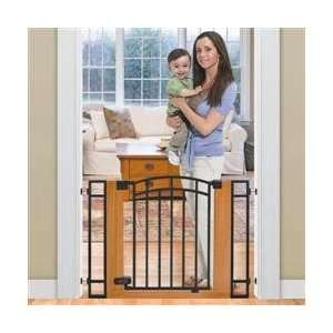 Infant Products Inc. Stylish n Secure Metal & Wood Walk Thru Gate
