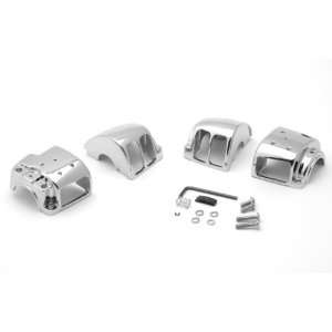 96 06 Harley Davidson Sportsters Chrome Switch Housings by
