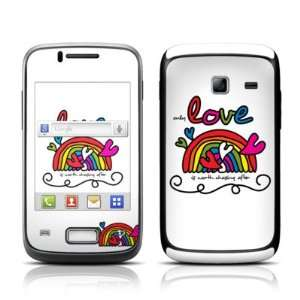 Only Love Design Protective Skin Decal Sticker for Samsung